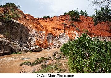 Fairy Stream Canyon Mui Ne Vietnam - Fairy Stream Canyon...