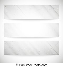 Set of grunge backgrounds, single color clear vector