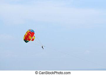 relax sky dive sport outdoor