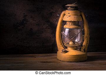 Old lantern - Still life vintage old lantern