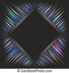 Hi-tech background with colored stripes