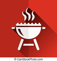 grill flat icon