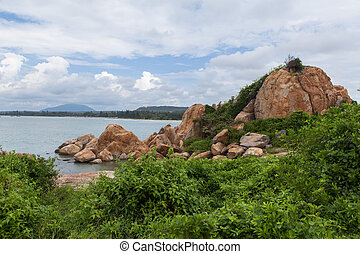Ke Ga beach at Mui Ne, Phan Thiet, Vietnam - Ke Ga beach at...
