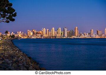 San Diego Bay Skyline