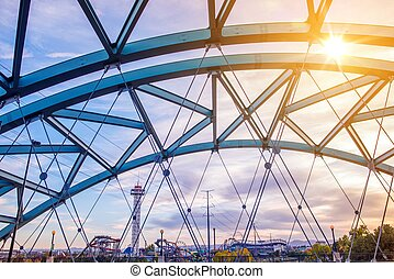 Speer Boulevard Bridge - Speer Boulevard Platte River Bridge...