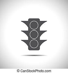 semaphore vector icon