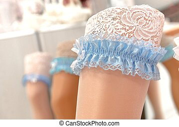 Sexy garters - Sexy and lacy garters in the shop