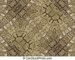 stein, Verzierung, Muster,
