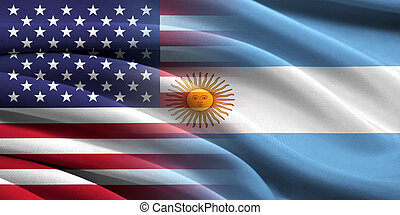 USA and Argentina Relations between two countries Conceptual...