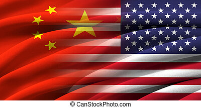 USA and China Relations between two countries Conceptual...
