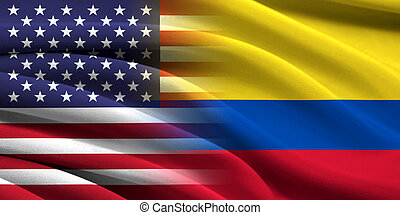 USA and Colombia. Relations between two countries....