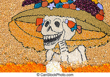 Day of the dead mexican catrina - Day of the dead...