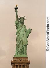 Statue of Liberty Retro