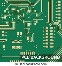 Pcb vector background