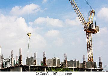 建築物, 建設