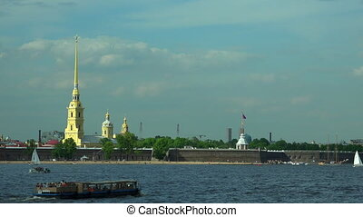 Peter and Paul fortress in St. Petersburg.