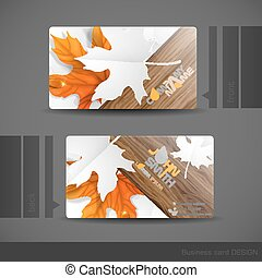 Business Card Design Vector Illustration Eps 10