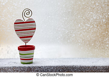 Christmas decoration - Christmas greeting card with...