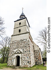 St Petri church in Benz, Germany