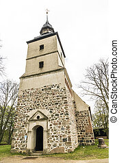 St. Petri church in Benz, Germany