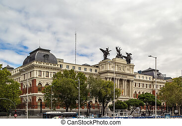 Ministry of Agriculture Building, Madrid - The Ministry of...