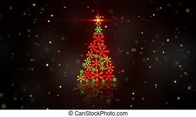 christmas tree shape loop