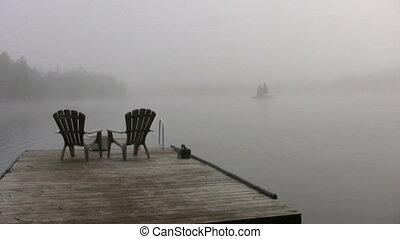 foogy lake