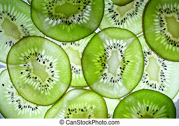 kiwi fruit - The kiwifruit or Chinese gooseberry (often...