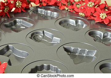 Molds for Christmas cookies - Metal molds for delicious...