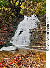 Buttermilk Falls in Autumn