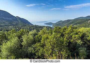 Lefkada Landscape, Ionian Islands,  Greece