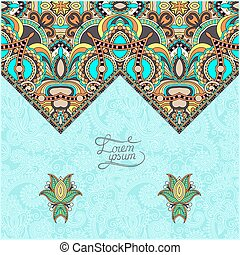 oriental decorative template for greeting card or wedding...