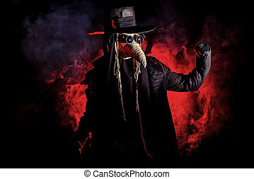 plague doctor - Terrible plague doctor. Medieval Europe....