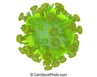 vírus, olá