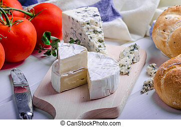 Gourmet cheeses