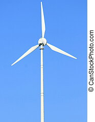 Wind turbine - Wind turbine to generate electricity with...