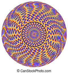 V Sphere Illusion