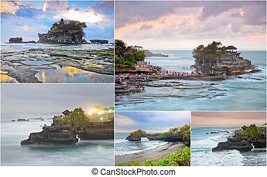 Tanah Lot, Bali, Indonesia - collection of Tanah Lot