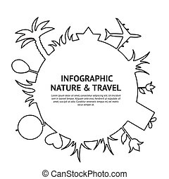 Travel and tourism. - Travel and tourism infographic...