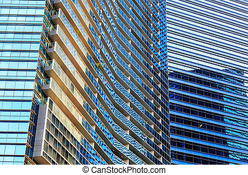 Buildings in Singapore city