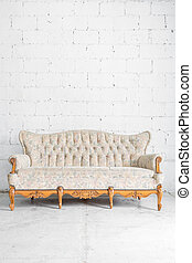 Vintage Sofa - Vintage classical style Sofa bed