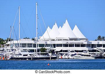 Marina Mirage Shopping Centre Gold Coast Queensland...