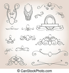 pattern of the treasured - pattern treasured for ornament...