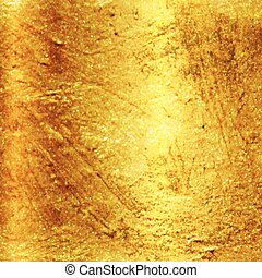 Vector textured gold background