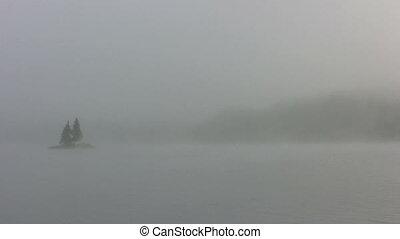 island mist - Stock 1080i Video Footage of morning mist on...