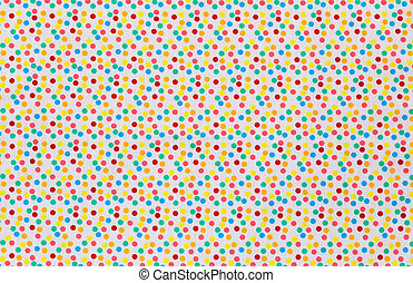 Fabric textile with dots pattern - Fabric textile with Tiny...