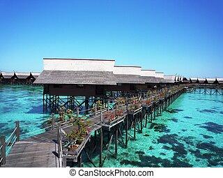 Kapalai Resort, Sabah, Malaysia