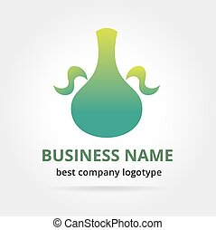Pitcher logotype isolated on white Key ideas is fresh water,...