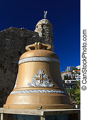bell of the old town of Budva, established after the...