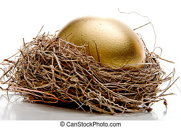 Golden Egg - A golden egg from the golden goose.